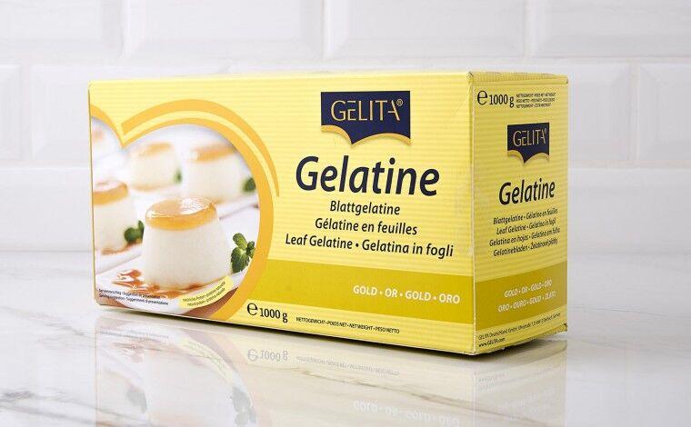 Colichef Gélatine en feuille qualité OR- 1 Kg