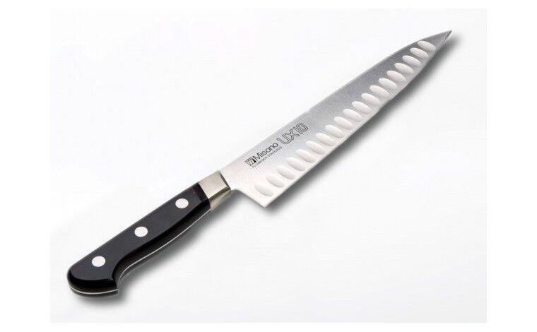 Misono Couteau de Cuisine Japonais 762 - lame alvéolée 21 cm