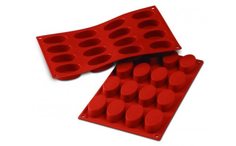 Silikomart Moule silicone 16 petits fours ovales