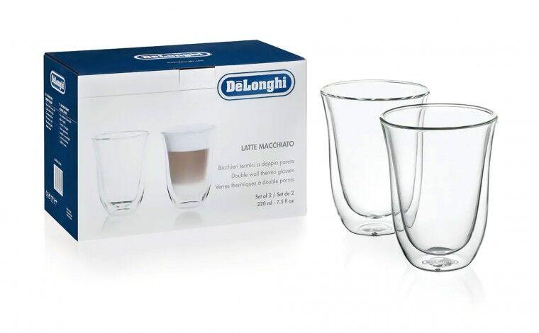 De'Longhi Set 2 tasses Latte Macchiato Delonghi