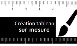 Différence tableau 190x70cm mme B.