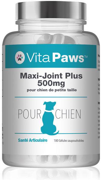 Simply Supplements Maxi-Joint Plus 500mg pour chien de petite taille - 180 Gélules