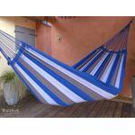 Tropical Influences Hamac Mossoro king bleu Toile de 190 cm x 250 cm.... par LeGuide.com Publicité