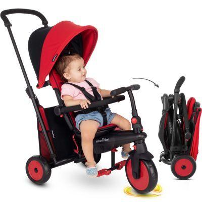 Poussette pliante évolutive en tricycle STR3 Trike rouge