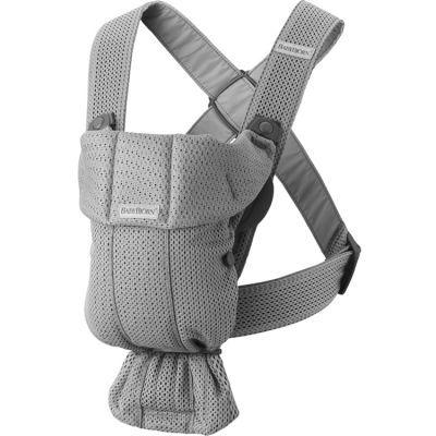 Porte bébé Mini tissu Mesh 3D gris