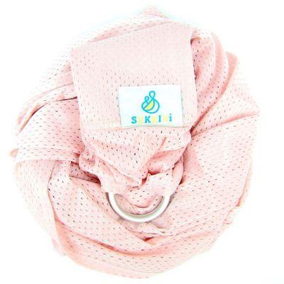 Echarpe de portage Sling Sukkiri rose pâle