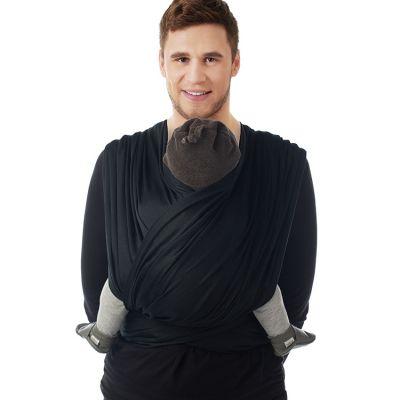 Echarpe de portage BB-Slen Trend noire (4,2 mètres)
