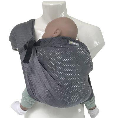 Porté bébé Mini Sling gris