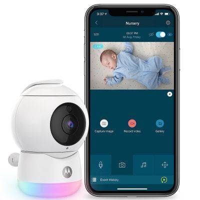 Moniteur bébé vidéo connecté Peekaboo camera