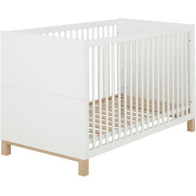 Lit bébé blanc Céleste (70 x 140)