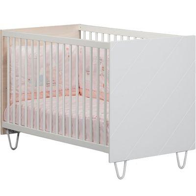 Lit bébé à barreaux Happy (60 x 120 cm)