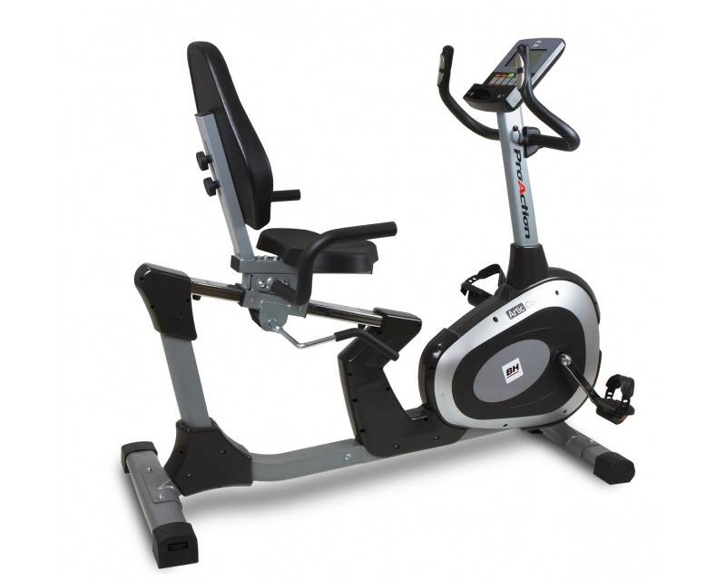BH Fitness EN STOCK ! Velo semi allongé BH Ergomètre Artic Comfort Program