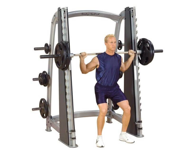 Body Solid Smith Machine Body Solid Pro Clubline SCB1000