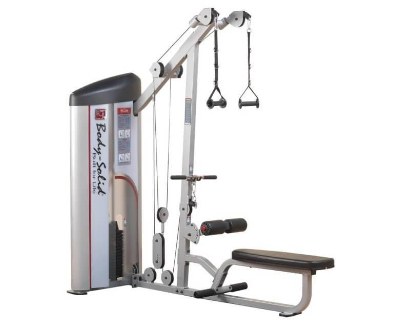 Body Solid Machine dos Body Solid Pro Clubline Series II S2LAT 75 kg