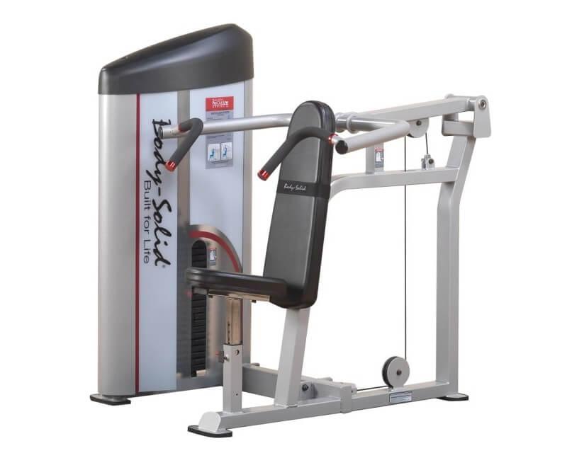 Body Solid Presse à épaules Body Solid Pro Clubline S2SP 140 kg