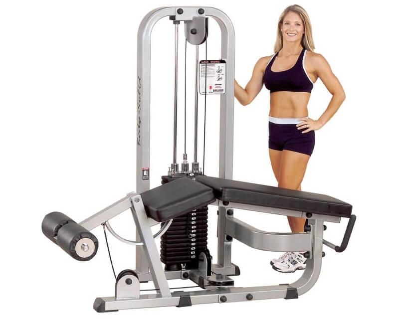 Leg Curl Body Solid Pro Clubline SLC400G 95 kg