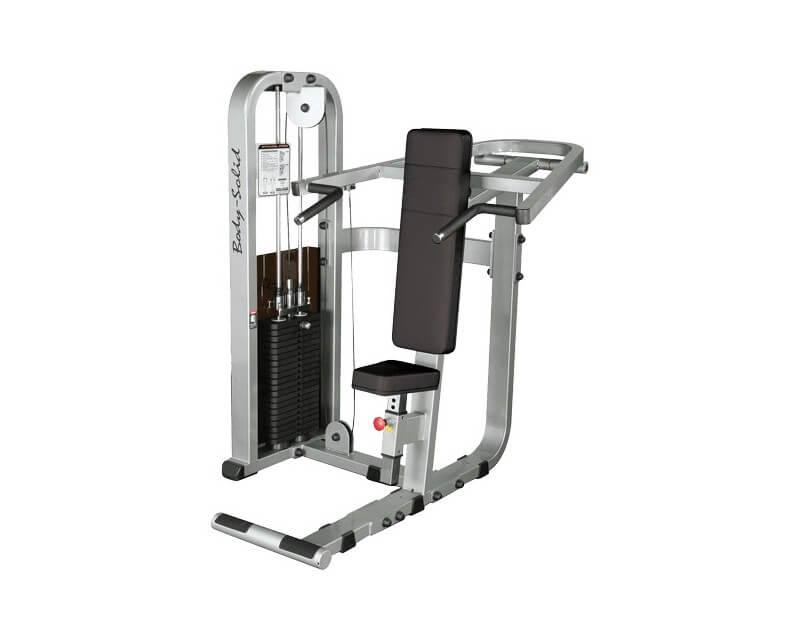 Machine epaule Body Solid Pro Clubline SSP800 140 kg