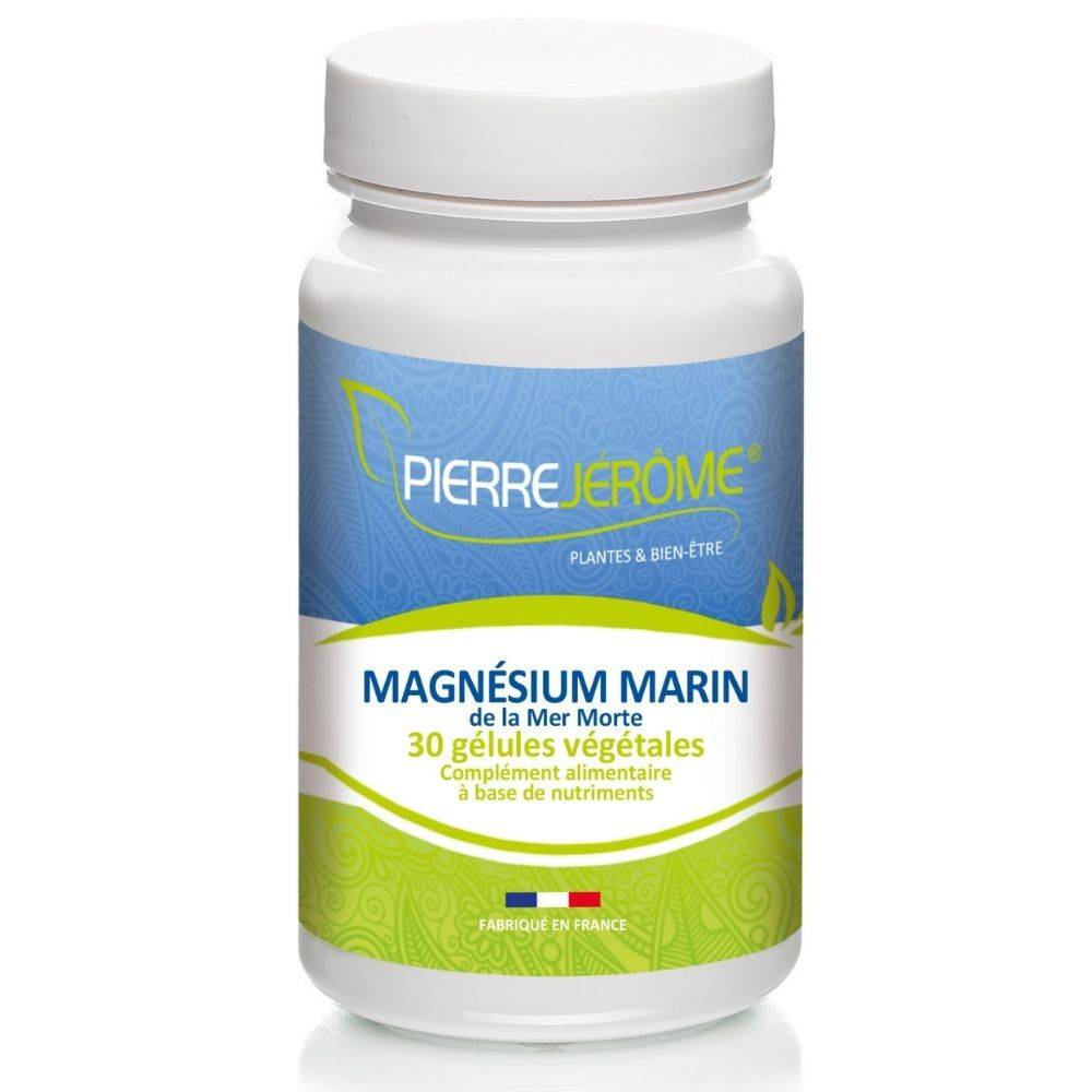 Pierre Jérôme Magnésium Marin Fort de la Mer Morte - 30 gélules végétales lot de 2