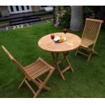 Wood-en-stock Ensemble de jardin 2 places en teck brut : modèle SUNRISE... par LeGuide.com Publicité