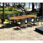 Wood-en-stock salon de jardin en teck grande taille - 10 chaises résine... par LeGuide.com Publicité