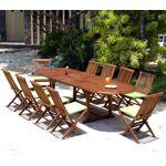 Wood-en-stock salon de jardin 10 chaises et table 200-300 cm en teck... par LeGuide.com Publicité