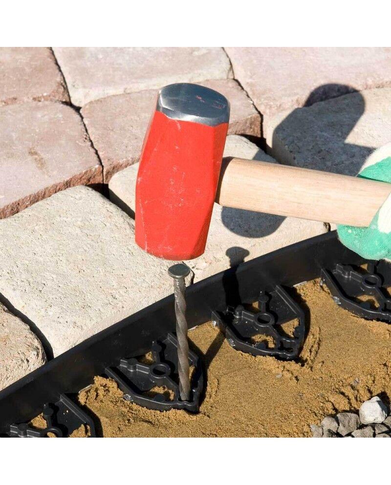 TISSNET Ancrage bordure de jardin