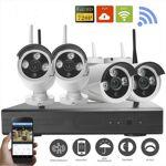Grantek Kit VidéoSurveillance IP WiFi Extérieur 4 Caméras + Enregistreur... par LeGuide.com Publicité