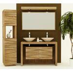 AQUAEDITION Meuble de salle de bain nova l120 cm en teck Meuble de salle... par LeGuide.com Publicité