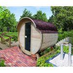 karibu  Karibu Sauna d'extérieur Tonneau 1 - 4 à 6 places épicéa massif... par LeGuide.com Publicité