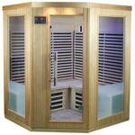 SNÖ Sauna d'angle infrarouge panneaux carbone 2200W 3-4 places -... par LeGuide.com Publicité