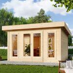 karibu  Karibu Sauna extérieur Nordin bois naturel avec vestibule 5 à 6... par LeGuide.com Publicité