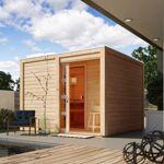 karibu  Karibu Sauna extérieur Cuben bois naturel avec vestibule 5 à 6... par LeGuide.com Publicité
