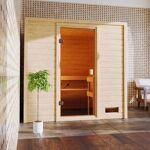 WoodFeeling Sauna traditionnel Adelina 3 à 4 places 38mm Woodfeeling... par LeGuide.com Publicité