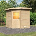 WoodFeeling Sauna extérieur d'angle PIRVA en bois massif 38mm 3... par LeGuide.com Publicité