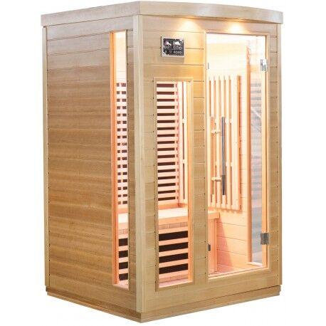 SNÖ Sauna infrarouge panneaux carbone 2050W 2 places - SNÖ