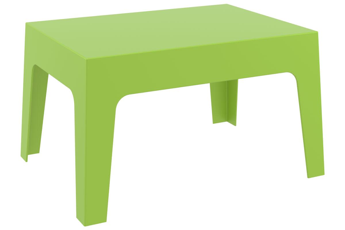 CLP Petite table d'appoint BOX 70 x 50 cm, vert CLP vert, hauteur de l'assise