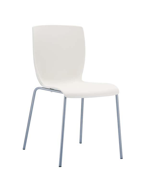 CLP Chaise design MIO , crème CLP crème, hauteur de l'assise