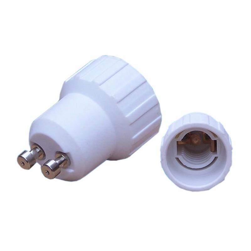 SILAMP Adaptateur GU10 vers E14 - Blanc