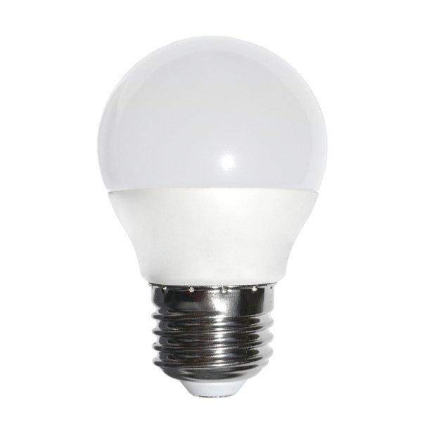 SILAMP Ampoule LED E27 6W 220V G45 240° - Blanc Froid 6000K - 8000K