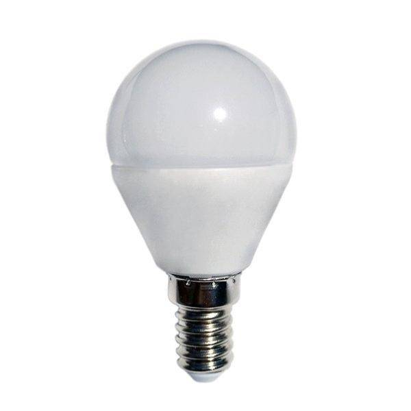 SILAMP Ampoule LED E14 6W 220V G45 240° - Blanc Chaud 2300K - 3500K