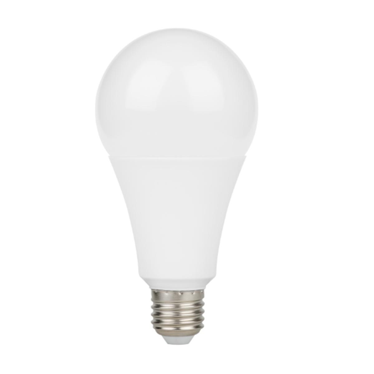 SILAMP Ampoule LED E27 18W A80 220V 230° - Blanc Neutre 4000K - 5500K