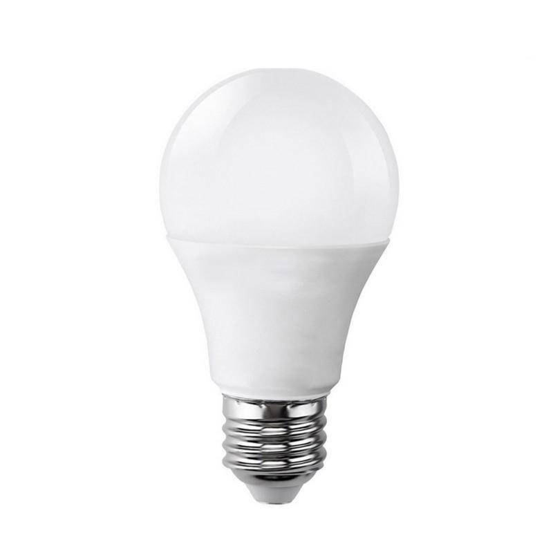 SILAMP Ampoule LED E27 9W 220V A60 180° - Blanc Froid 6000K - 8000K