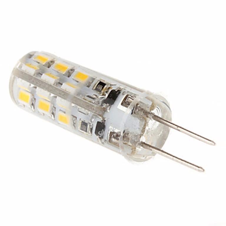 Silamp Ampoule LED G4 2W 12V SMD2835 24LED 360° - Blanc Chaud 2300K - 3500K