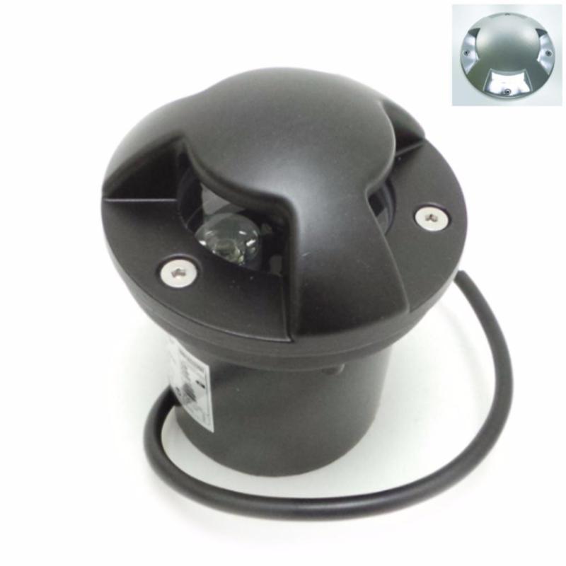 SILAMP Spot Extérieur Encastrable LED IP65 220V Sol 3W Walkable 4 faisceaux - Blanc Froid 6000K - 8000K