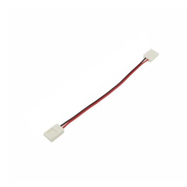 Silamp Connecteur Ruban LED 12V 3528 / 3014 / 2835 Bande 2 connecteurs