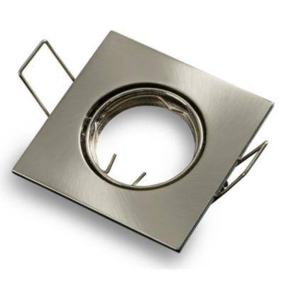 SILAMP Support Spot GU10/MR16 LED Carré INOX
