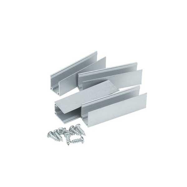 SILAMP Support de Fixation Aluminium pour Néon LED Flexible 220V
