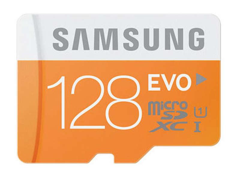 SAMSUNG Carte mémoire micro SD 128 GO SAMSUNG SAMP128DA EVO