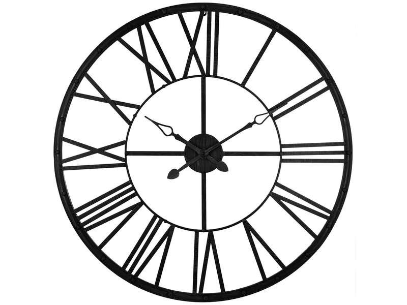 CONFORAMA Horloge 96 cm CLEM96N coloris noir