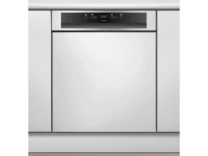 WHIRLPOOL Lave vaisselle intégrable bandeau inox WHIRLPOOL WBC3C26X